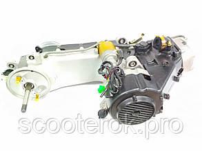 Двигатель в сборе  GY6-150 куб (длинный вариатор).
