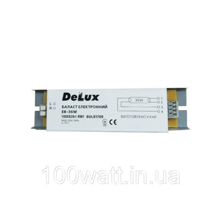 Балласт электронный EB-18W Delux