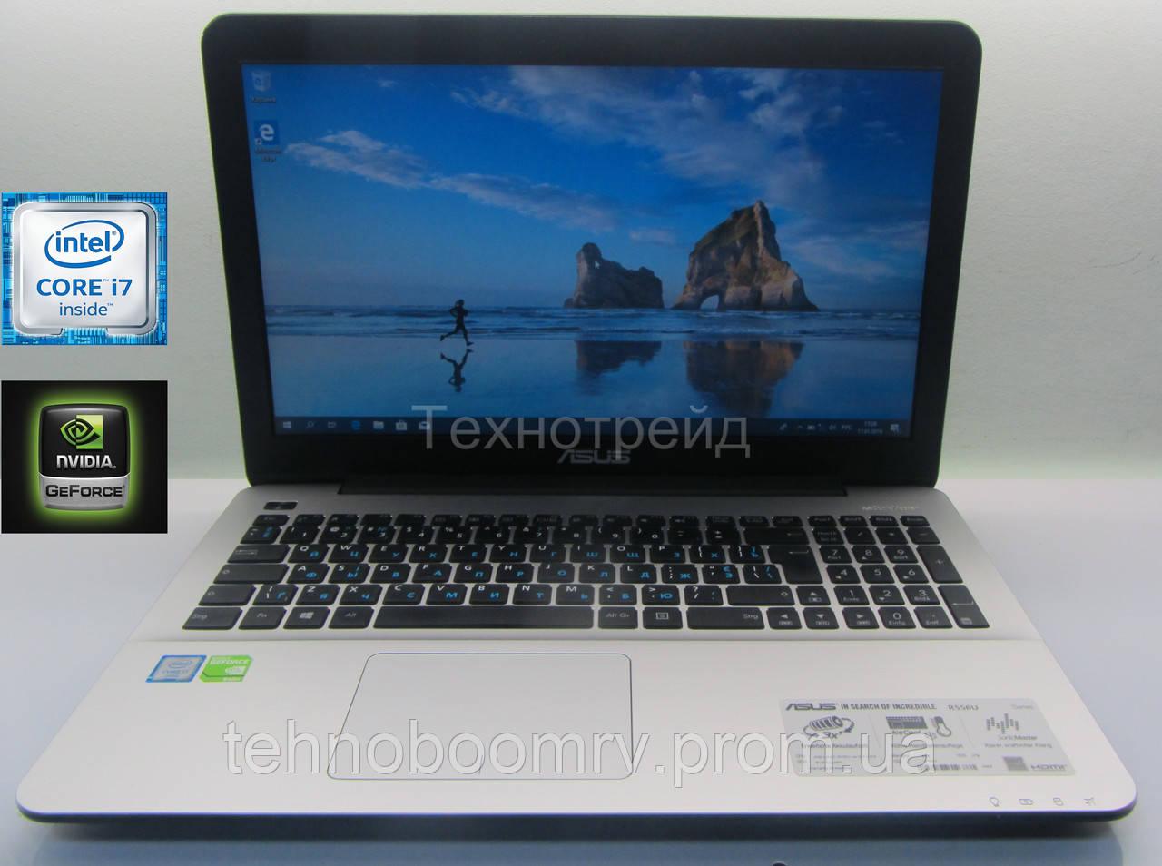 Asus R556U - Intel i7-6500U 3.1GHz/DDR3 8GB/nVidia GT 940M 2GB
