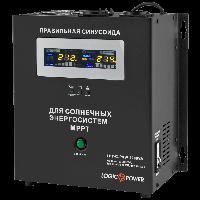 Гибридный инвертор 1400Вт, 24В+МРРТ контроллер 40А Logicpower LPY- С - PSW-2000VA , фото 1