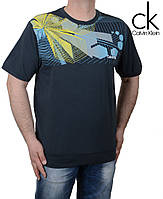 Модная мужская футболка.Большие размеры футболок.