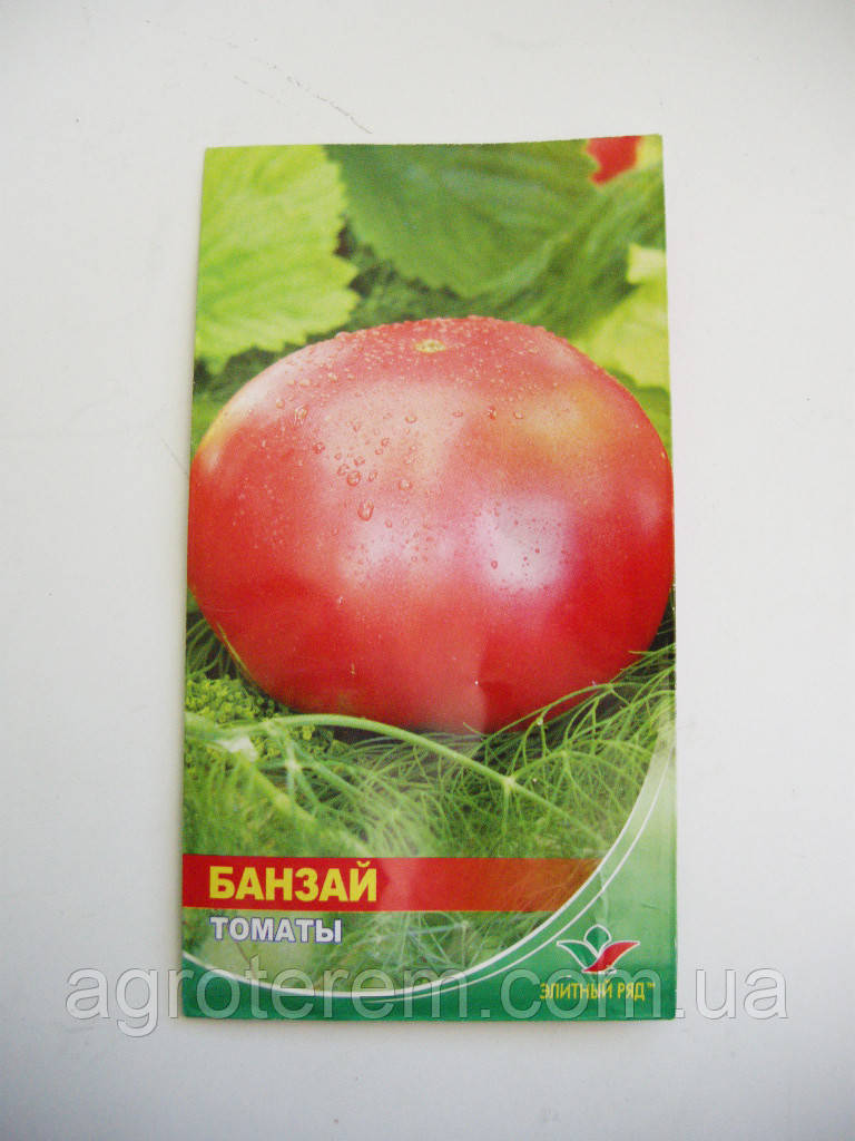 Насіння томату Банзай 1г ( до 2018г)