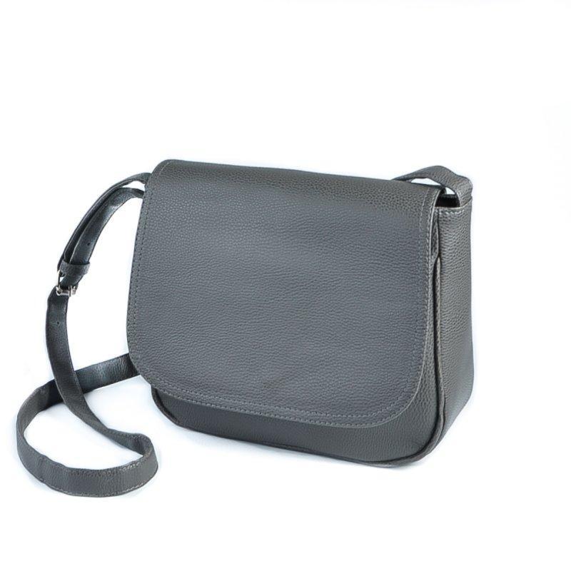 4f5eb12371ec Серая молодежная сумка М52-100 через плечо кросс-боди небольшого размера,  фото 1