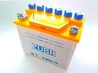 Аккумулятор 18 A заливной кислотный для трицикла Zubr T200/Foton,мотоблока