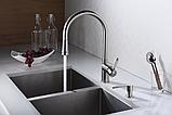 Дозатор для жидкого мыла Blue Water (Польша) Premium - inox, фото 4