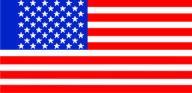 Флаг США 0,9х1,7 м. материал для уличного применения флажная сетка