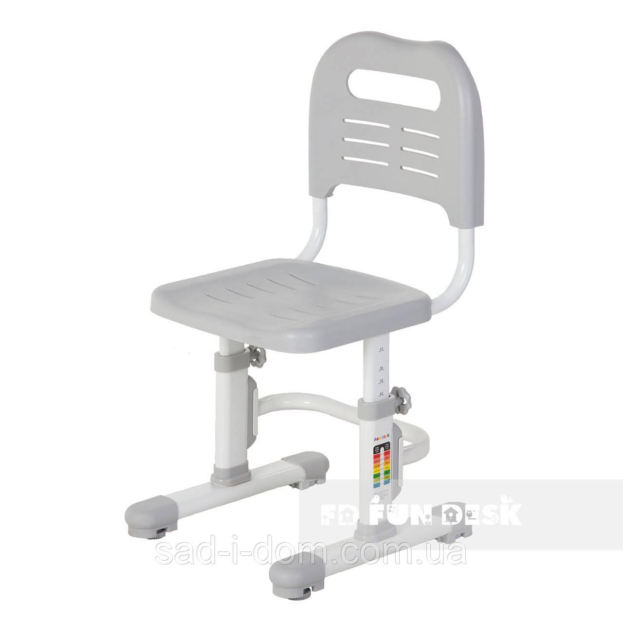 Детский стул растишка FunDesk SST3L, серый