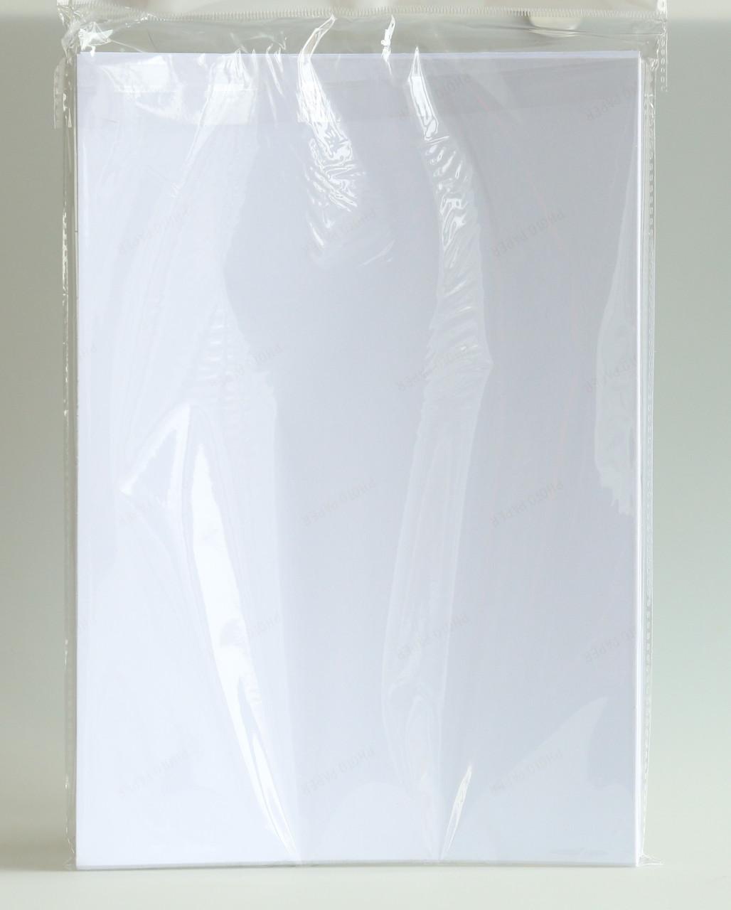 Самоклейка глянцевая 135 г/м.кв (50 листов)