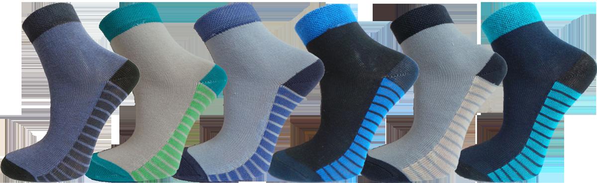 """Дитячі шкарпетки полоска стопа """"lomani"""""""