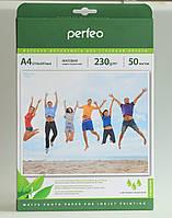 Фотобумага Perfeo A4 230 гр/м2 (50 листов) матовая