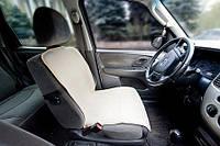 Накидка на автомобильное сидение из мериносовой шерсти