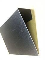 Ценник меловой  7х10 см А7 подвесной. (для надписей мелом и маркером) черный Грифельный ценник