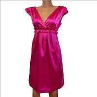 Вечернее малиновое платье OGGI