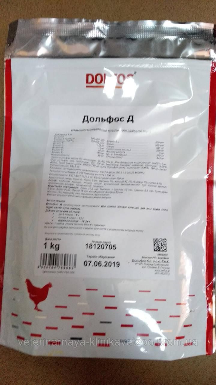 Витамино-минеральный премикс для всех видов птицы   Дольфос Д