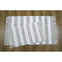 Набор ковриков Irya - Jami silver (gumus) серебро 60*90+40*60