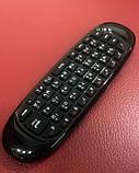Бездротова клавіатура, пульт, аеро миша. Air mouse. Гіроскоп, російська, фото 6