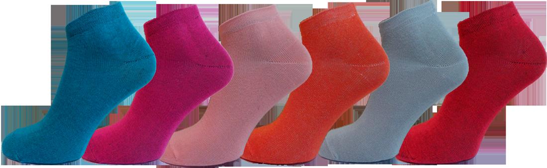 """Жіночі шкарпетки хлопок мікс""""lomani"""""""