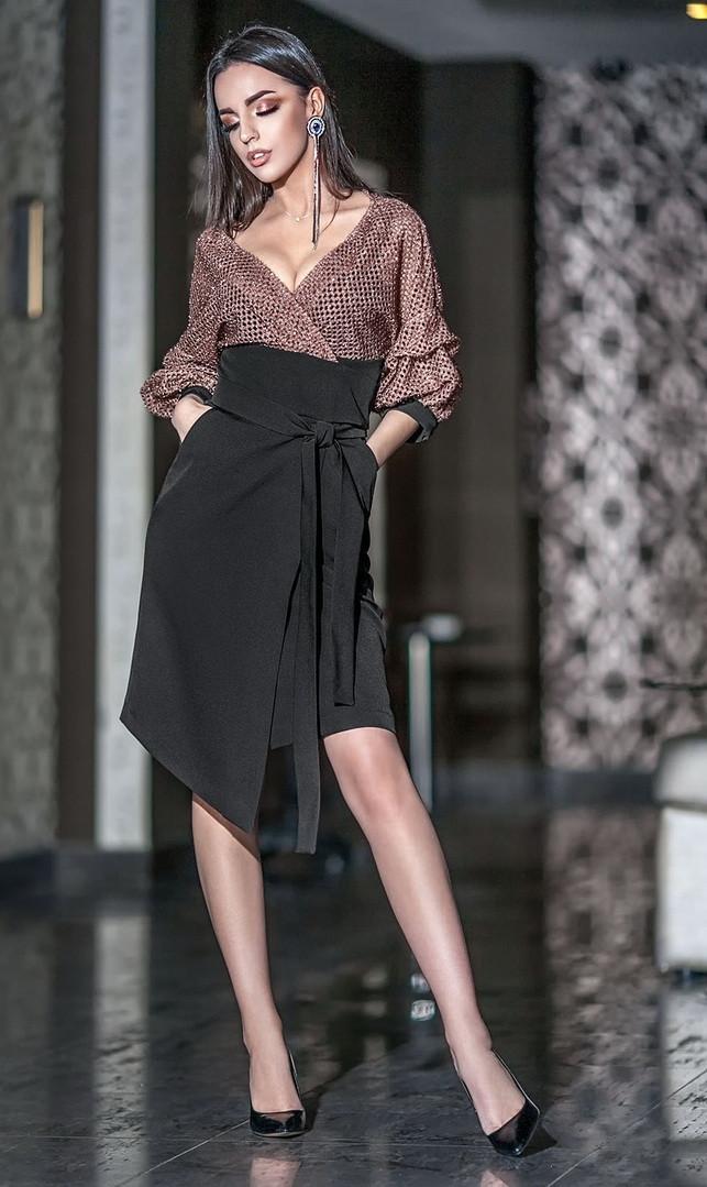 Платье Ванесса комби