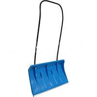 Лопата для снега широкая drewmet на колесиках