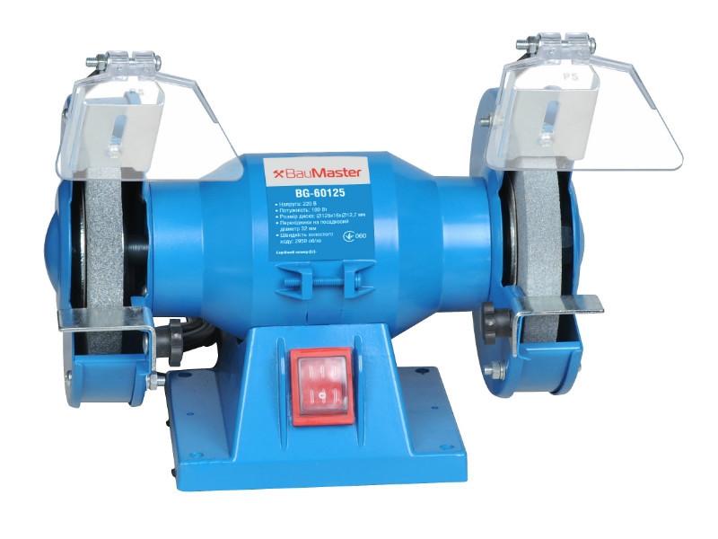 Точильний верстат (125 мм, 180 Вт) BauMaster BG-60125