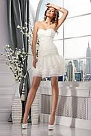 Короткое коктейльное платье «Сердцеедка»