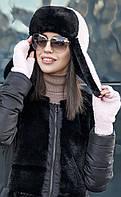 Комплект №202 шапка+митенки, фото 1