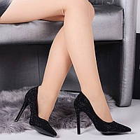 Женские туфли лодочки стразы 10,5 см, фото 1