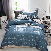 Детский хлопковый комплект постельного белья Счастливое облако  (полуторный)