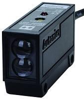Фотоелектричний датчик 200 мм прозорі, напівпрозорі та непрозорі об'єкти, NPN, 12-24 VDC