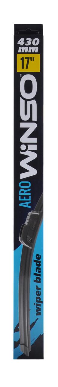Бескаркасная щетки стеклоочистителя WINSO AERO 17/430мм
