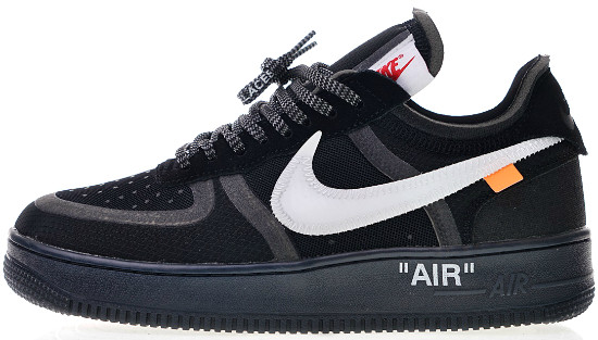 nike x off white air force black