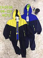 Трикотажный костюм 3 в 1 для мальчика оптом, S&D, 98-128 см,  № CH-5538
