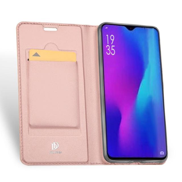 чехол Huawei P30 Pro книжка dux ducis золотисто-розовый