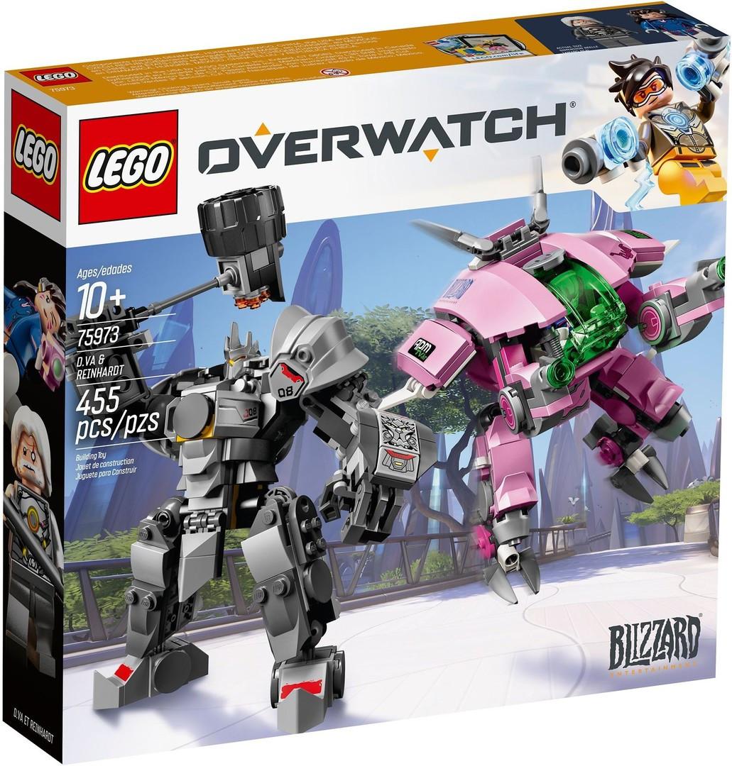 Lego Overwatch Д. Ва и Ренхардта 75973