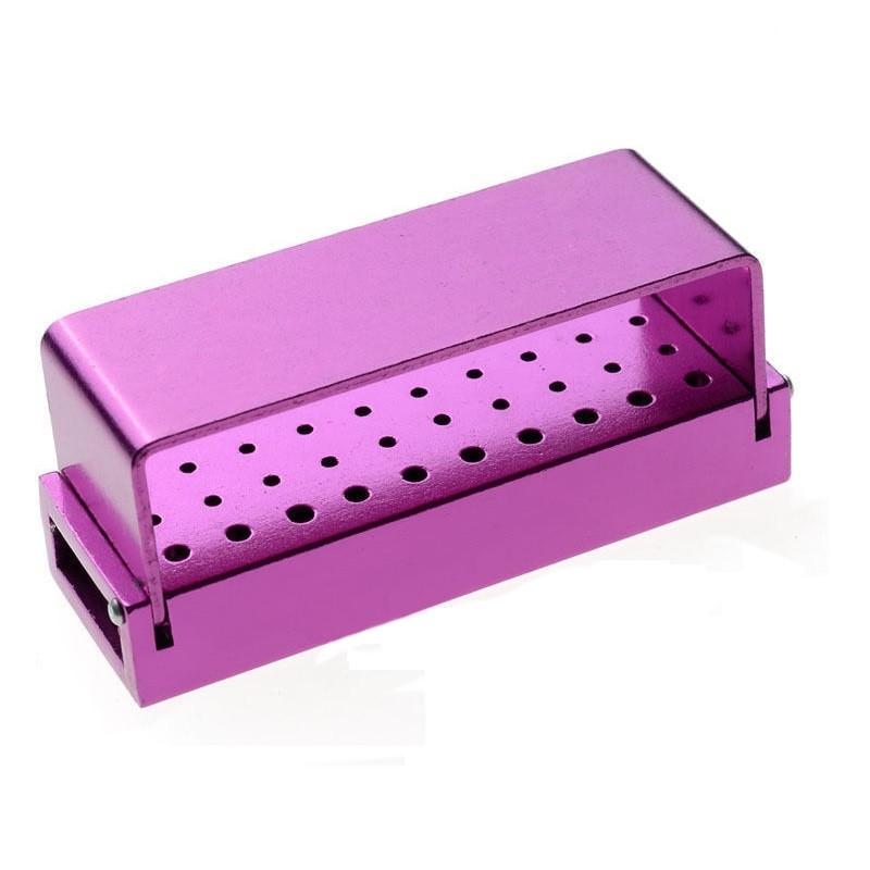 Стерилизатор - подставка для боров (30 отв) пурпурный