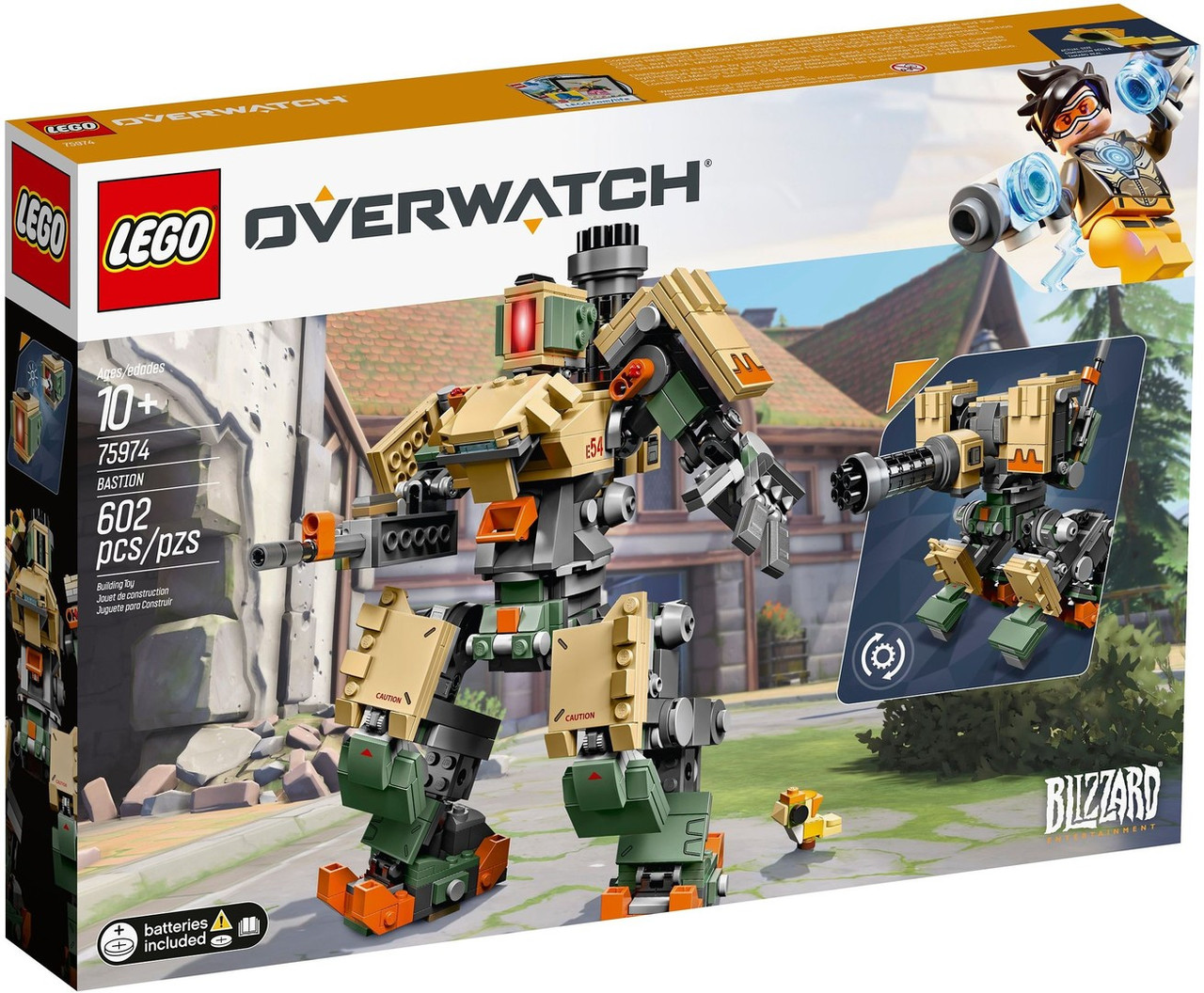 Lego Overwatch Бастион 75974