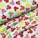 Ткань польская хлопковая, фрукты микки-маусы на белом, фото 4