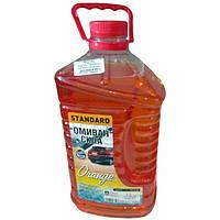 Омыватель стекла зимний -20 STANDARD Orange (канистра 4л) <ДК>