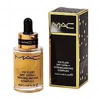 Масло-праймер под макияж с шаймер-эффектом MAC Fix Fluid Skin Balancing Complex SPF15/PA++ 35 мл