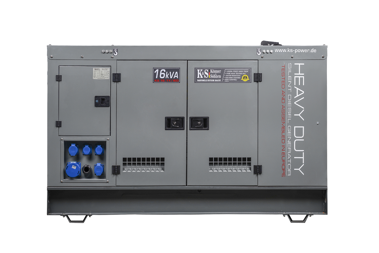 Генератор дизельный Konner&Sohnen KS16-1Y/IED (17,6 кВт)