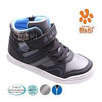 Утепленные высокие кеды-ботинки для мальчика Bi&Ki