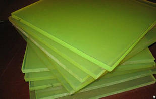 Полиуретан листовой. Размер листов 500*500мм.
