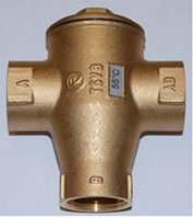 """Термостатический смесительный вентиль Regulus TSV3 55°C DN25 1"""""""