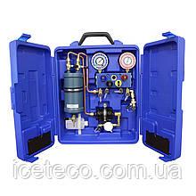 Рекуператор для фреона. Модуль очистки от влаги, масла и частиц МС 69500 Mastercool