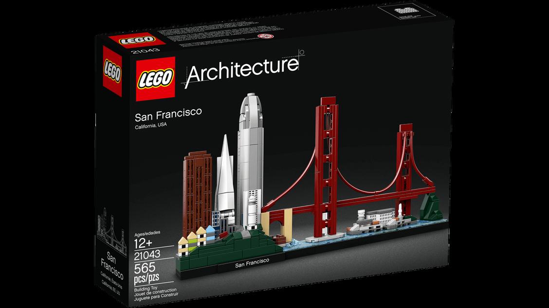 Lego Architecture Сан-Франциско 21043