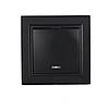 ElectroHouse Выключатель с подсветкой графит Enzo ЕН-2183-PG