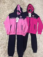 Трикотажный костюм 2 в 1 для девочек оптом, S&D, 134-164 см,  № CH-5507