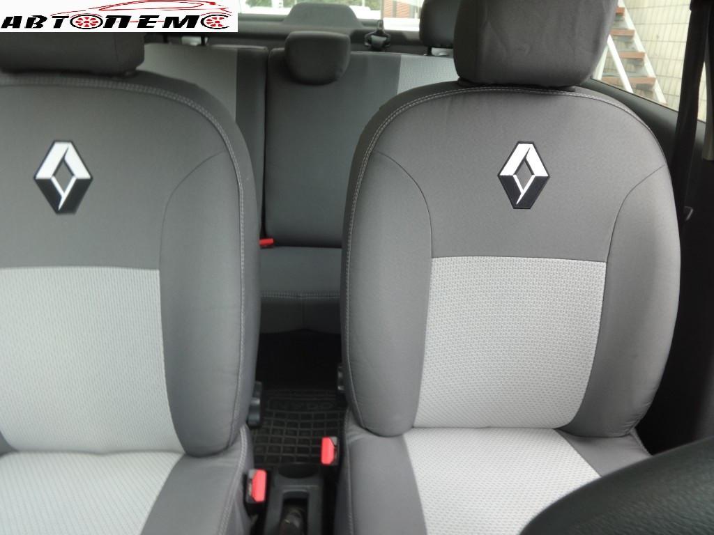 Чехлы на сиденья Renault Megane II Hatch c 2002-09 г. ТМ Элегант тканевые.