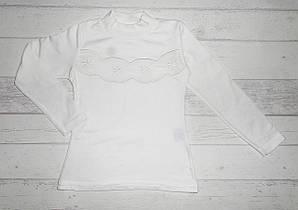 Детская школьная кофта на девочку 6,8,10,12 лет молочный