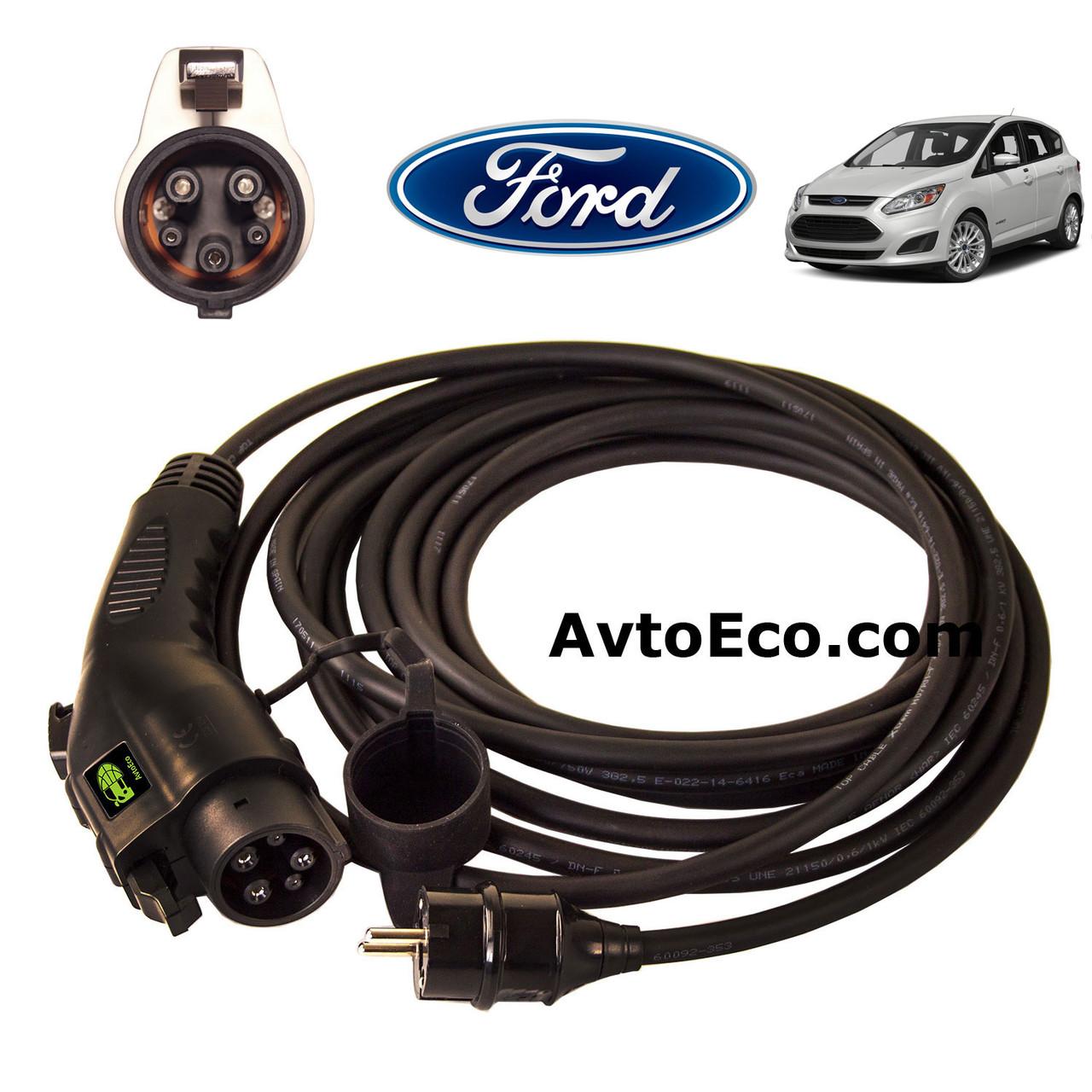 Зарядное устройство для электромобиля Ford C-Max Erergi AutoEco J1772-16A, фото 1